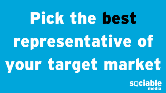 pick best representative blog post